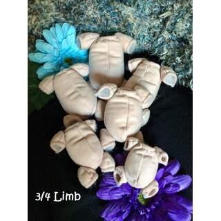 Doll Body 3/4 Limb
