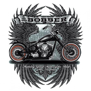Bobber Motorcycle Tee