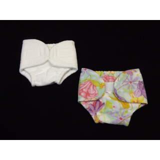 """15"""" Diaper/Cover Set Floral Fairies"""